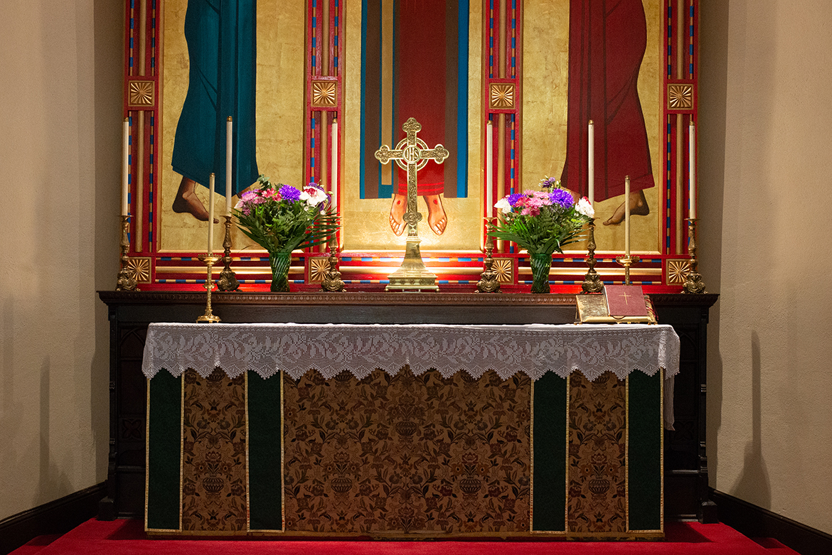 Photo of high altar