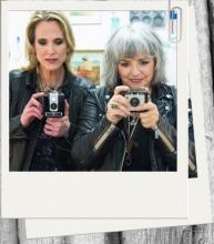 Image of Lynne Myles and Lynne Hanson